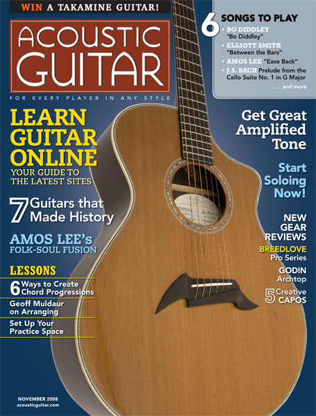 Acoustic Guitar Magazine - November 2008