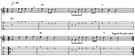Hush Little Baby - My First Attempt at Arranging a Chord Melody