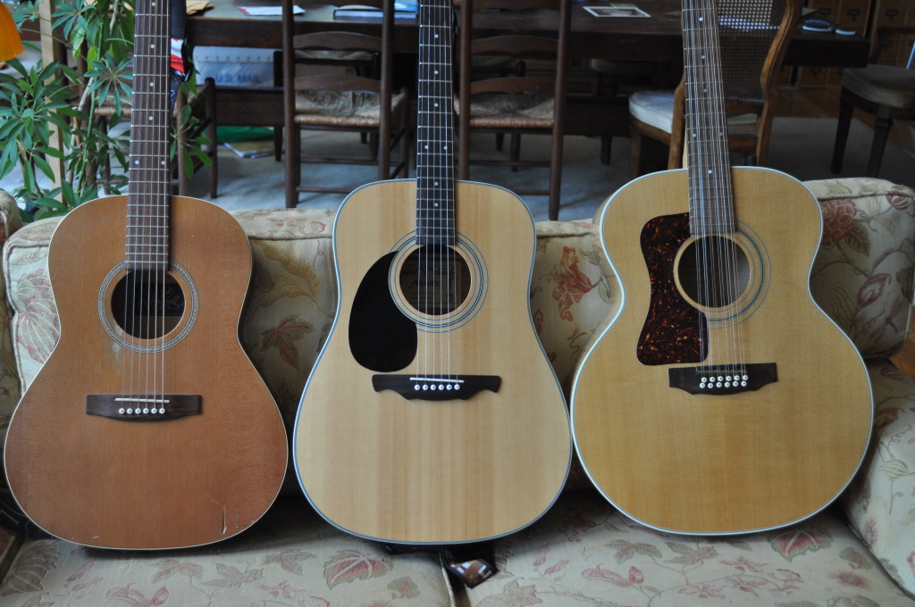 Acoustic Guitars Sizes