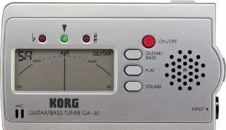 Korg GA-30 Guitar Tuner