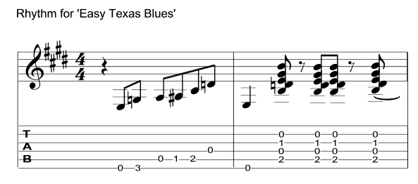 Texas Blues Rhythm