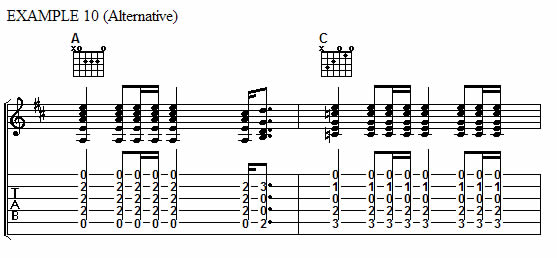 Example 10 (Alternate)