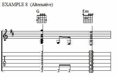 Example 8 (Alternate)