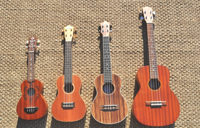 Ukulele Group Photo