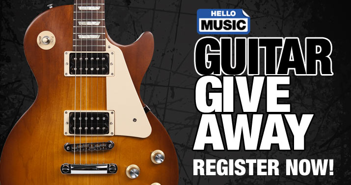 Guitar Giveaway Register Now