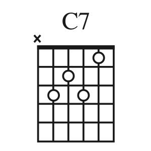 C7 chord