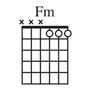 Fm chord