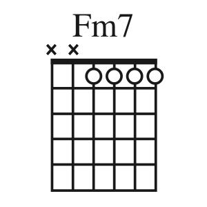Fm7 chord
