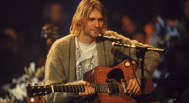 Kurt Cobain with Guitar