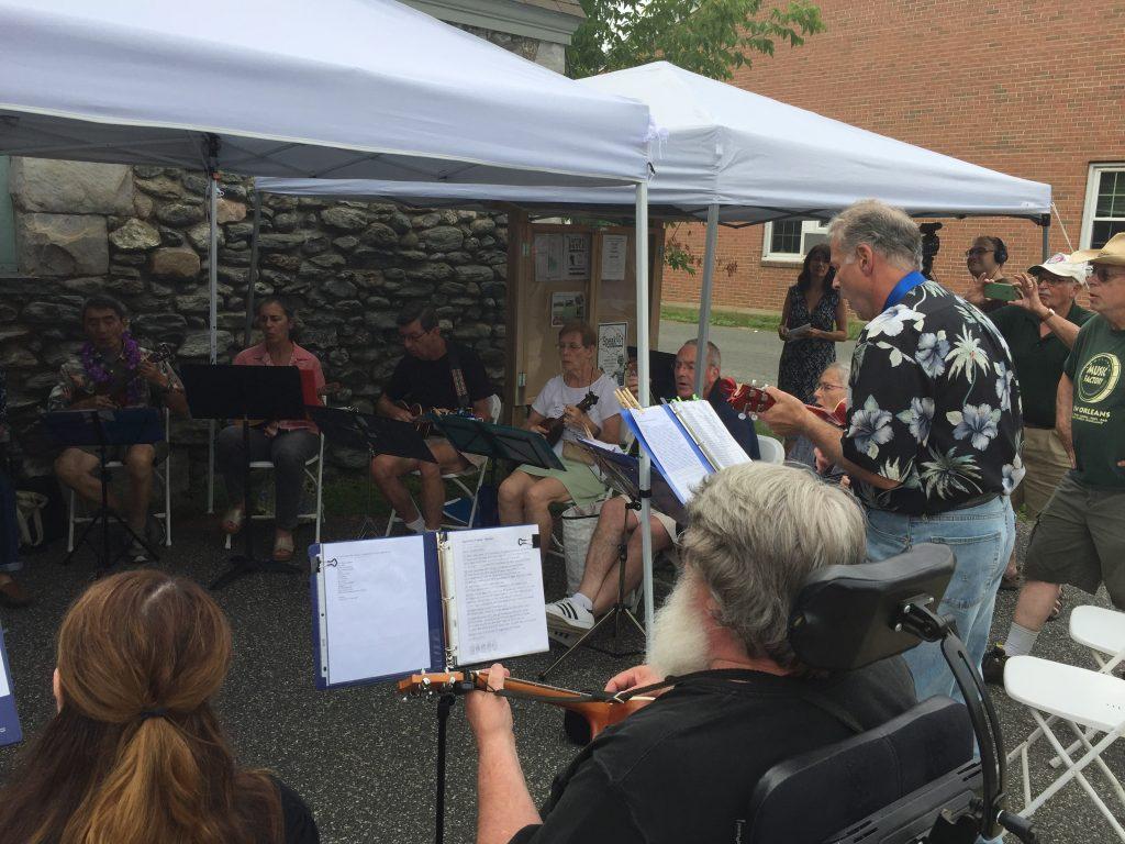 The Berkshire Ukulele Band