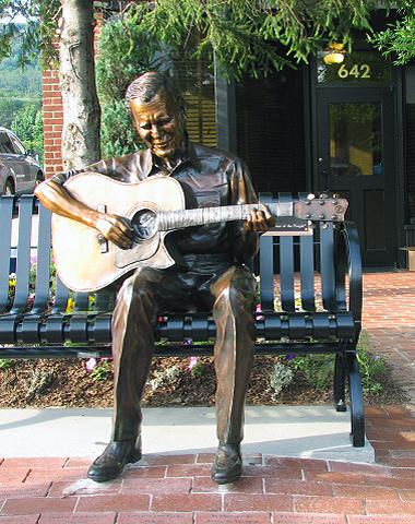 Doc Watson Statue