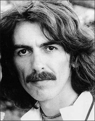 George Harrison black and white