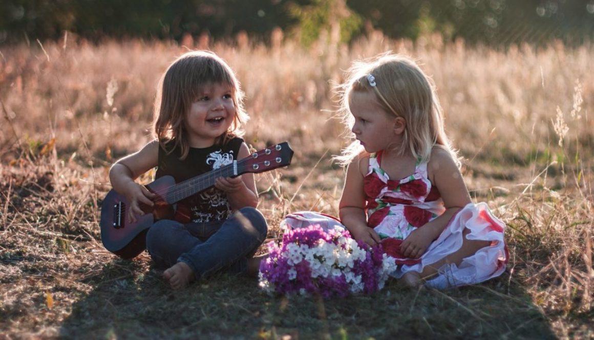 Guitar Boy and Girl