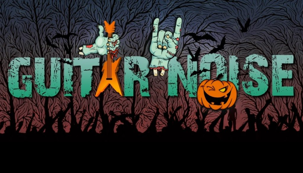 Spooky Songs for Halloween - Guitar Noise