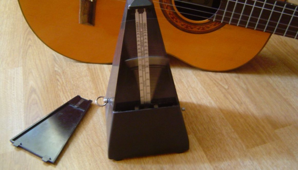 Metronome and guitar