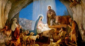 Mother and Child Nativity
