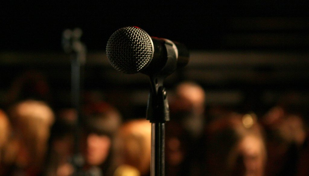 Stage Fright Microphone