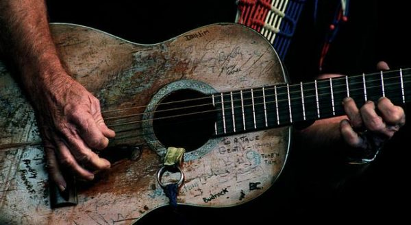 Willie Nelson's Guitar Trigger