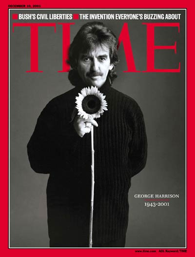 George Harrison - Time Magazine Cover